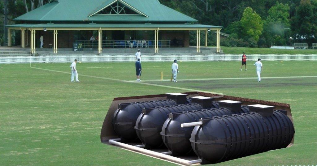 Enduramax Cricket Ground Irrigation Design